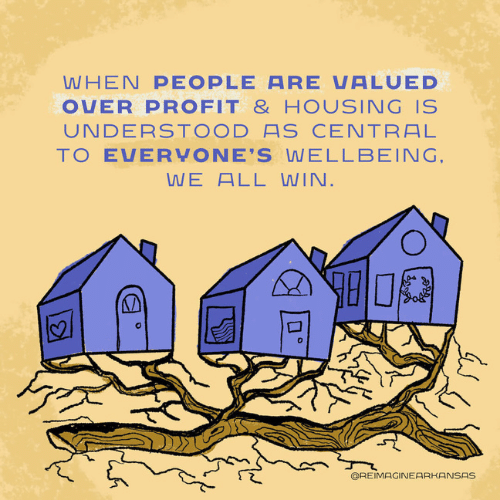 Housing needs to be uderstood as central to everyone's wellbeing